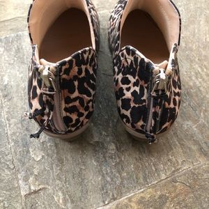 Kenneth Cole Reaction Shoes - Kenneth Cole Reaction Leopard Print Ankle Bootie